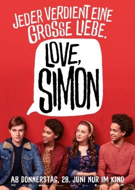 "Das Hauptplakat von ""Love, Simon"" (© 2018 Twentieth Century Fox)"