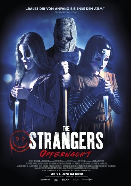 """Das Hauptplakat von """"The Strangers 2 - Opfernacht"""" (© Square One/Universum)"""