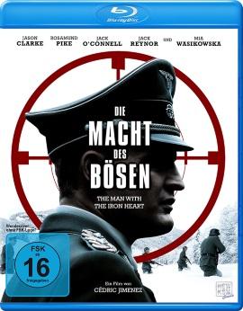 """Das Blu-ray-Cover von """"Die Macht des Bösen – The Man With The Iron Heart"""" (© 2018 KSM Film)"""