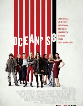 "Das Hauptplakat von ""Ocean's 8"" (© Warner Bros Pictures)"