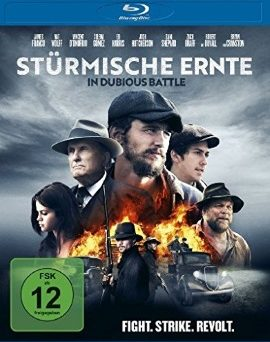 """Das Blu-ray-Cover von """"Stürmische Ernte - In Dubious Battle"""" (© Universum Film)"""
