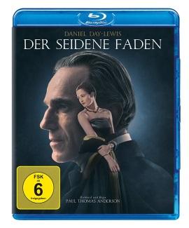 """Das Blu-ray-Cover von """"Der seidene Faden"""" (© 2017 Universal Pictures)"""