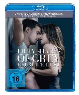 "Das Blu-ray-Cover von ""Fifty Shades of Grey 3 - Befreite Lust"" (© 2018 Universal Pictures Home Entertainment)"