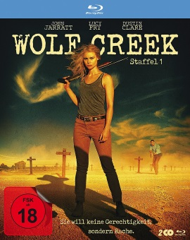 "Das Blu-ray-Cover von ""Wolf Creek Staffel 1"" (© Polyband)"