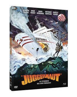 """Das Cover des Mediabooks von """"Juggernaut - 18 Stunden bis zur Ewigkeit"""" (© Justbridge Entertainment)"""