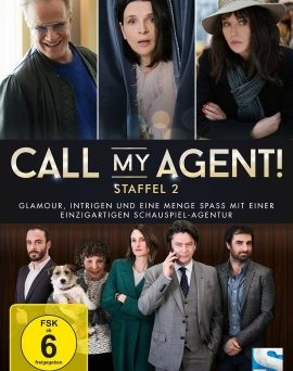 "Das DVD-Cover von ""Call My Agent Staffel 2"" (© edel:motion)"