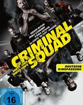 "Das DVD-Cover von ""Criminal Squad"" (© Concorde Home Entertainment)"