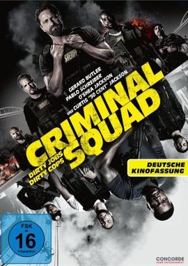 "Das DVD-Cover von ""Criminal Squad"" (© Concorde Home Entertainment)"