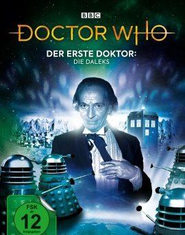"""Das DVD-Cover von """"Der erste Doktor - Die Daleks"""" (© Polyband)"""