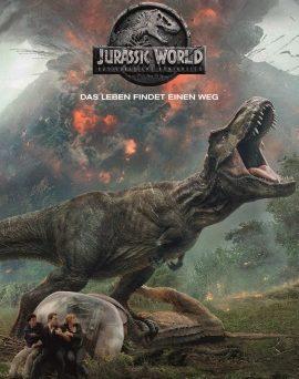 """Das Hauptplakat von """"Jurassic World: Das gefallene Königreich"""" (© 2018 Universal Pictures International Germany)"""