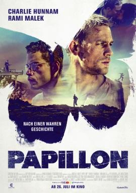 """Das Hauptplakat von """"Papillon"""" (© Constantin Film)"""
