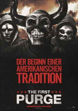 "Das Hauptplakat von ""The First Purge"" (© Universal Pictures International Germany)"