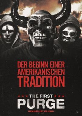 """Das Hauptplakat von """"The First Purge"""" (© Universal Pictures International Germany)"""