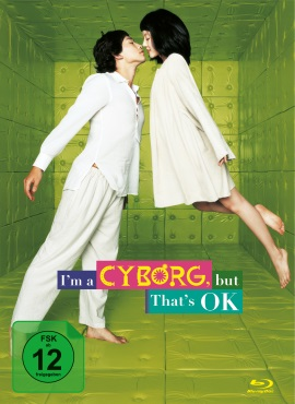 "Das Blu-ray-Cover von ""I'm a Cyborg, But That's OK"" (© Capelight Pictures)"