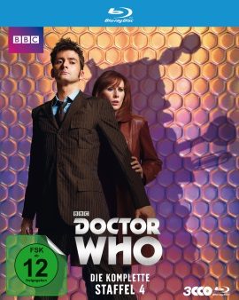 "Das Blu-ray-Cover von ""Doctor Who Staffel 4"" (© Polyband)"