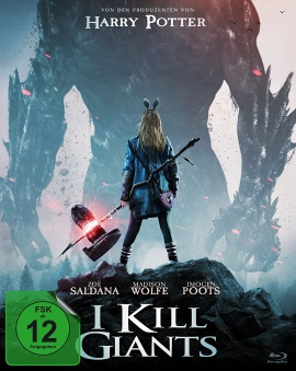 "Das Blu-ray-Cover von ""I Kill Giants"" (© Koch Media)"