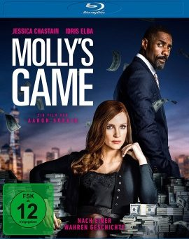 "Das Blu-ray-Cover von ""Molly's Game"" (© Universum Film)"