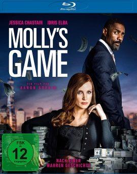 "Das Blu-ray-Cover von ""Molly's Game"" (© Universum Film)"