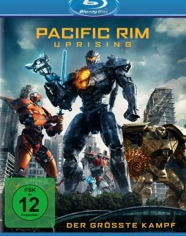 "Das Blu-ray-Cover von ""Pacific Rim 2 - Uprising"" (© Universal Pictures International Germany)"