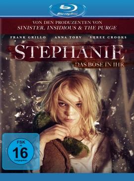 """Das Blu-ray-Cover von """"Stephanie - Das Böse in ihr"""" (© Universal Pictures International Germany)"""
