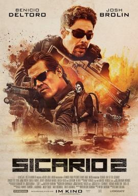 """Das Hauptplakat von """"Sicario 2"""" (© StudioCanal)"""