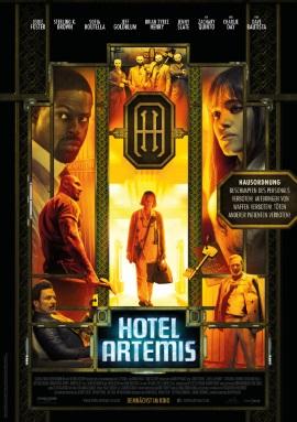 """Das Hauptplakat von """"Hotel Artemis"""" (© Concorde Filmverleih)"""