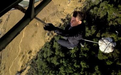 Kletterübungen im Hunt-Style (© Paramount Pictures Germany)