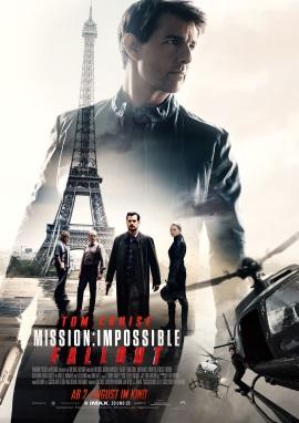 "Das Hauptplakat von ""Mission: Impossible - Fallout"" (© Paramount Pictures Germany)"