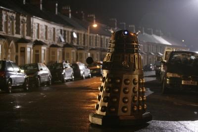 Die Daleks sorgen mal wieder für Ärger (© Polyband)