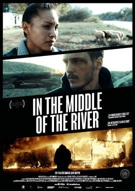 """Das Hauptplakat von """"In the Middle Of the River"""" (© Farbfilm)"""