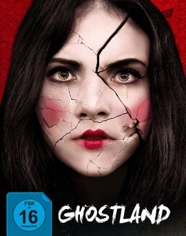 "Das Mediabook-Artwork von ""Ghostland"" (© Capelight Pictures)"
