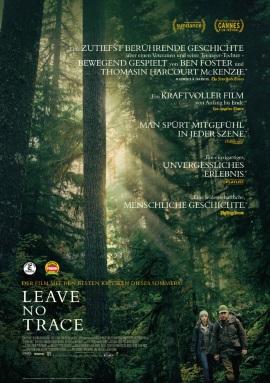 """Das Hauptplakat von """"Leave No Trace"""" (© 2018 Sony Pictures Entertainment Deutschland GmbH)"""
