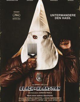 "Das Plakat von ""BlacKkKlansman"" (© Universal Pictures International Germany)"