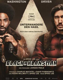 "Das Hauptplakat von ""BlacKkKlansman"" (© Universal Pictures Internatinal Germany)"