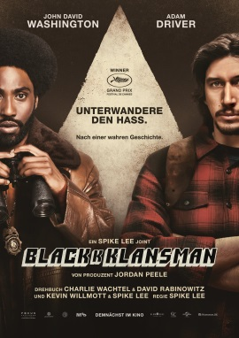 "Das Hauptplakat von ""BlacKkKlansman"" (© Universal Pictures Internatinal Germany)"
