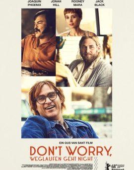 """Das Poster zu """"Don't worry, weglaufen geht nicht"""" (© NFP)"""