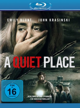 "Das Blu-ray-Cover von ""A Quiet Place"" (© Paramount Pictures)"