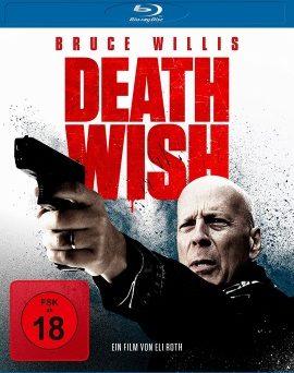 """Das Blu-ray-Cover von """"Death Wish"""" (© Universum Film)"""