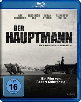 """Das Blu-ray-Cover von """"Der Hauptmann"""" (© Weltkino)"""