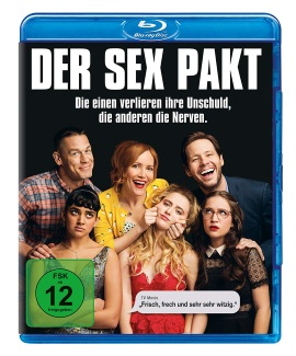 "Das Blu-ray-Cover von ""Der Sex Pakt"" (© Universal Pictures Home Entertainment)"