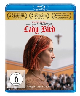 "Das Blu-ray-Cover von ""Lady Bird"" (© Universal Pictures)"