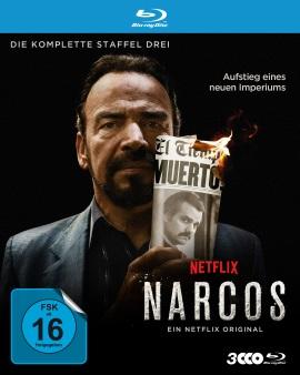 "Das Blu-ray-Cover von ""Narcos Staffel 3"" (© Polyband)"