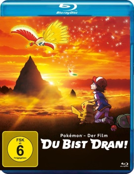 """Das Blu-ray-Cover von """"Pokémon - Der Film: Du bist dran!"""" (© Polyband)"""