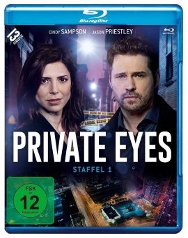 "Das Blu-ray-Cover von ""Private Eyes Staffel 1"" (© Edel:motion)"