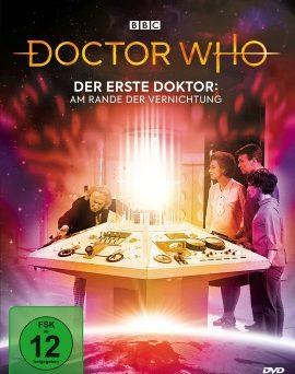 """Das DVD-Cover von """"Der erste Doktor - Am Rande der Vernichtung"""" (© Polyband)"""