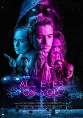 """Das Hauptplakat von """"All Eyes On You"""" (© Lost Tape)"""