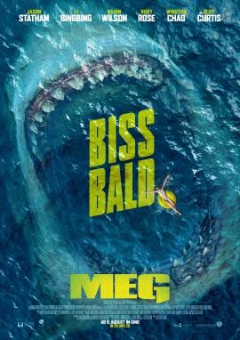 """Das Hauptplakat von """"MEG"""" (© Warner Bros Pictures)"""