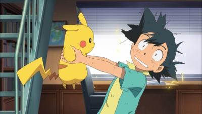 Aller Anfang ist auch bei Ash und Pikachu schwer (© Polyband)