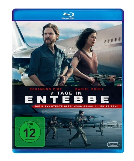 "Das Blu-ray-Cover von ""7 Tage in Entebbe"" (© eOne Germany)"