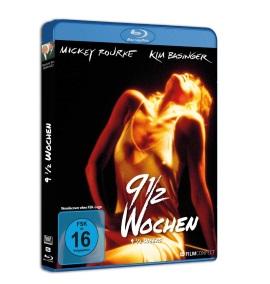 """Das Blu-ray-Cover von """"9 1/2 Wochen"""" (© FilmConfect)"""